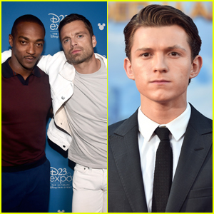 Anthony Mackie & Sebastian Stan Are Competing With Tom Holland - Watch!