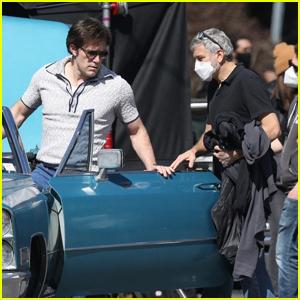 Ben Affleck & George Clooney Film 'The Tender Bar' in Boston