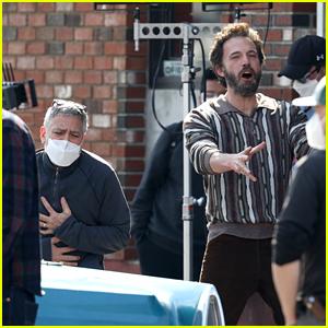 George Clooney & Ben Affleck Sing Their Favorite Song On 'Tender Bar' Set in Boston