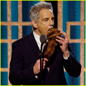 Ben Stiller Shows Off Banana Bread He Made During Quarantine at Golden Globes 2021!