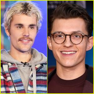 Justin Bieber Is Watching Tom Holland's 'Cherry' Instead of Grammys 2021