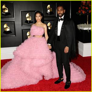 Big Sean & Jhene Aiko Are One Stunning Couple At Grammys 2021