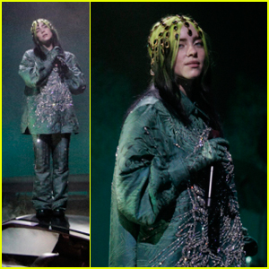 Billie Eilish Performs 'Everything I Wanted' on Top of a Car for the 2021 Grammys