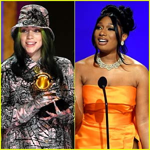 Billie Eilish Wins Top Grammy of the Night, Says Megan Thee Stallion Deserved It