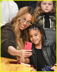 Blue Ivy Carter Drinks Out of Her First Grammy Award!