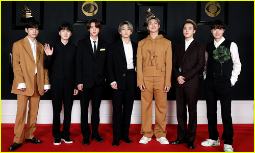 BTS Guys Go Cool in Louis Vuitton for Grammys 2021 Red Carpet