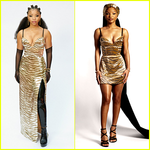Chloe x Halle Slay in Golden Gowns For Grammys 2021