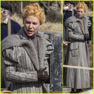 Claire Danes Is in Full Victorian Costume Filming 'The Essex Serpent'
