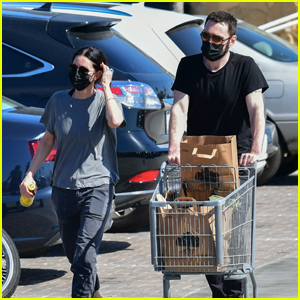 Courteney Cox & Fiance Johnny McDaid Shop Together in Malibu