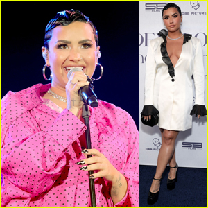 Demi Lovato Performs at 'Dancing With the Devil' YouTube Series Premiere Event
