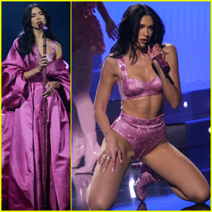 Dua Lipa Stuns in Sexy Performance at the 2021 Grammys