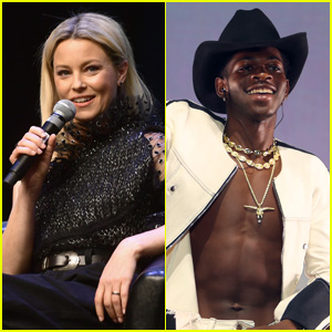 Elizabeth Banks Reacts to Lil Nas X's 'Hunger Games' Styling in 'Montero' Video