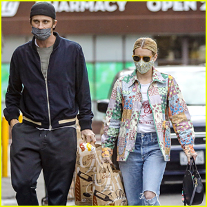 Emma Roberts & Garrett Hedlund Head Out For First Time Together After Welcoming Baby Rhodes