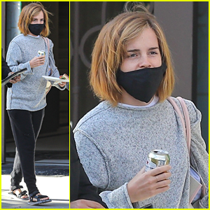 Emma Watson Picks Up A Sandwich To Go During Rare Solo Outing in LA
