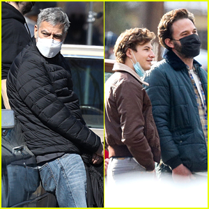 George Clooney Works With Ben Affleck on 'Tender Bar' Set in Boston