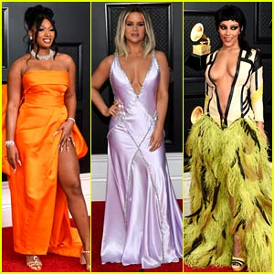 Grammys 2021 Red Carpet - See Every Celeb Who Attended!