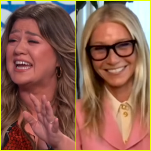 Kelly Clarkson Can't Stop Laughing After Hearing Gwyneth Paltrow Say This - Watch!