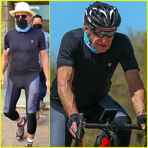 Harrison Ford, 78, Wears Skintight Riding Outfit While Biking Through Mexico