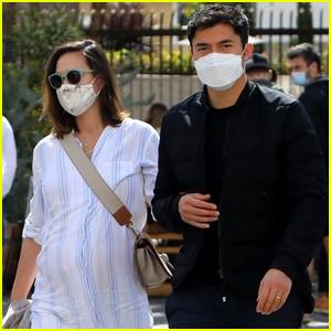 Henry Golding & Pregnant Wife Liv Lo Step Out for Lunch in L.A.