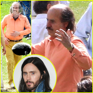 Jared Leto Looks Nothing Like Himself On 'House of Gucci' Set - See The Pics!