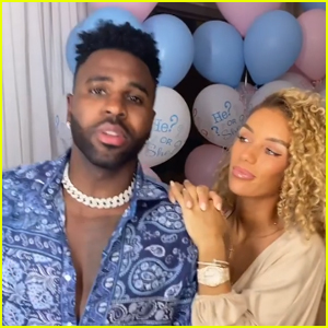 Jason Derulo & Jena Frumes Reveal the Sex of Their Baby - Watch! (Video)