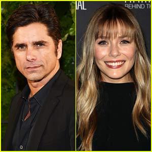 John Stamos Shares Throwback Photo of Him & Young Elizabeth Olsen on 'Full House' Set