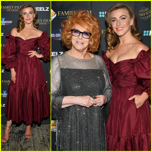Julianne Hough Returns to the Red Carpet to Honor Ann-Margret