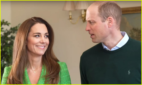 Duchess Kate Middleton & Prince William Share Cute Moment in St. Patrick's Day Video