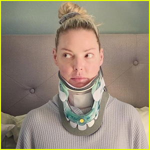 Katherine Heigl Wears Neck Brace After Undergoing Surgery Following 'Excruciating' Neck Injury