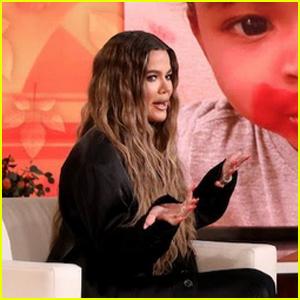 Khloe Kardashian Hid a Wardrobe Malfunction on 'Ellen'!