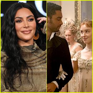 Kim Kardashian Is Very Much a Fan of 'Bridgerton' After Binge-Watching The Netflix Show