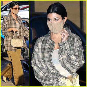 Kourtney Kardashian Brings Her Son Mason to Her Favorite Restaurant for Dinner