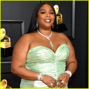 Lizzo Goes Minty Fresh for Grammys 2021