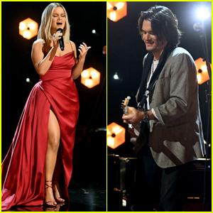 Maren Morris & John Mayer Join Forces for an Emotional Performance of 'The Bones'