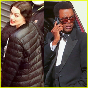 Margot Robbie & Chris Rock Get Back to Work Filming New Movie in L.A.