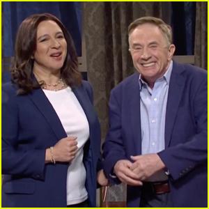 Martin Short Appears as Doug Emhoff Opposite Maya Rudolph as Kamala Harris on 'Saturday Night Live' - Watch!