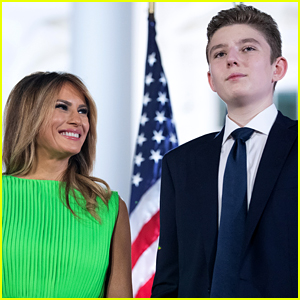 Melania Trump's Birthday Post for Barron Is Getting Mixed Reactions on Twitter