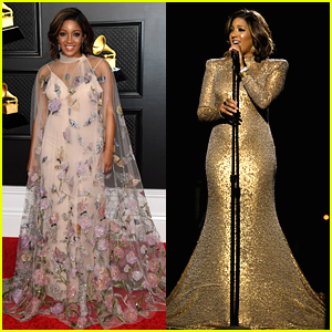 Mickey Guyton Gives Chilling Performance of 'Black Like Me' at Grammys 2021