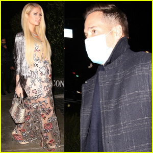 Paris Hilton & Fiance Carter Reum Head Out on Dinner Date in WeHo
