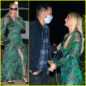 Paris Hilton & Fiance Carter Reum Double Date With Her Parents For Dinner