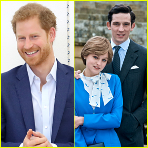 Emma Corrin & Josh O'Connor React To Prince Harry's Comments About 'The Crown'
