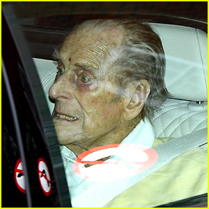 Prince Philip Photographed Leaving Hospital, Buckingham Palace Releases New Statement