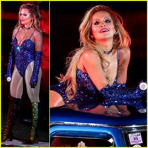 Rita Ora Performs for Thousands at Sydney's Gay & Lesbian Mardi Gras Parade