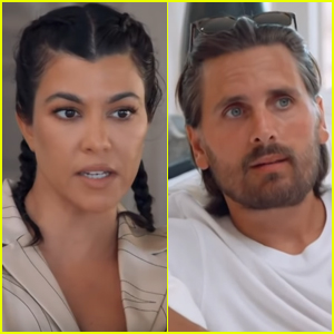 Scott Disick Talks to Kourtney Kardashian About Split from Sofia Richie (Video)