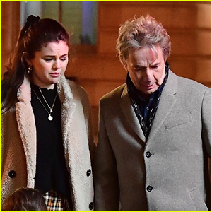 Selena Gomez Films A Frightening Scene For 'Only Murders In The Building' in NYC