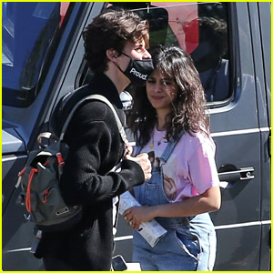 Shawn Mendes & Camila Cabello Arrive Together for Video Shoot - See the Photos