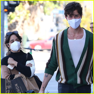 Shawn Mendes & Camila Cabello Couple Up to Do Some Grocery Shopping