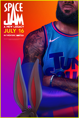 LeBron James & Bugs Bunny Debut Posters For 'Space Jam: A New Legacy'
