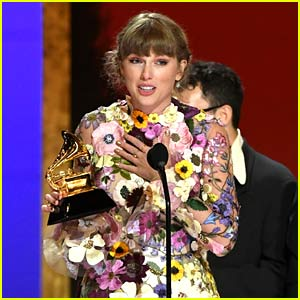 Taylor Swift Makes Grammys History with Her Third Album of the Year Win, Gives Shout-Outs to Big Celebs!