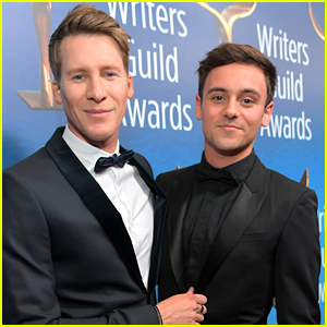 Tom Daley & Dustin Lance Black Wrote the Sweetest Messages to Mark Their 8th Anniversary